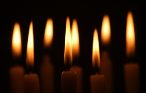 candle-flames